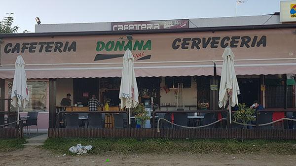 cafetería doñana arenas
